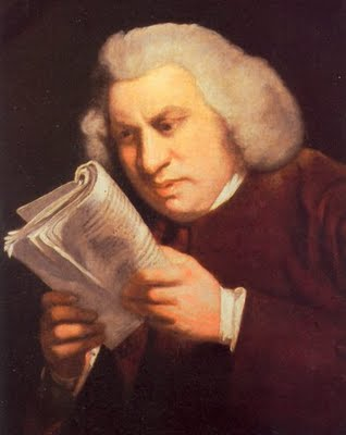 Samuel Johnson poltergeist